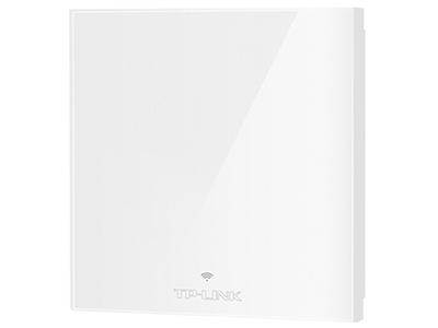 TP-LINK  TL-AP1205GI-PoE 纯净版(皓月白)   面板AP 带机量50,标准POE,双频,正面无端口,背后千兆端口,皓月白