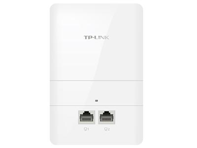 TP-LINK  TL-AP1300I-POE    面板AP 带机量55,标准POE,双频,2 RJ45网口,可VLAN