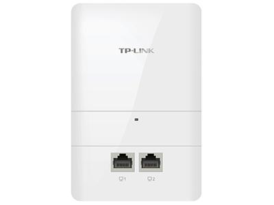 TP-LINK  TL-AP1750GI-POE   面板AP 带机量70,标准POE,双频,2 RJ45网口,可VLAN,端口全千兆