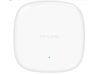 TP-LINK  TL-AP306C-POE 吸顶式AP 带机量25,标准POE,半径10m或6个标间,椭圆型
