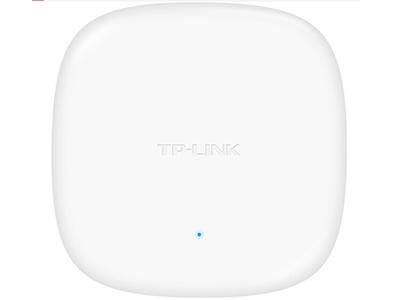 TP-LINK  TL-AP456C-POE   吸顶式AP 带机量35,标准POE,半径10m或6个标间,椭圆型