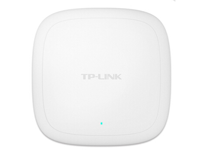 TP-LINK  TL-AP306C-PoE  吸顶式AP 带机量55,标准POE或DC供电,双频,半径15m或6个标间,云朵型