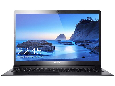 宏基 A315 15.6英寸学生轻薄手提便携游戏办公笔记本电脑(酷睿i5 4G 128G固态 2G独显)