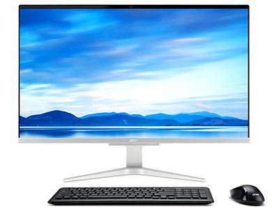 宏碁 蜂鸟一体机C27-865 微边框一体机电脑27英寸(八代i5-8250U 8G 128GSSD+1T 2G独显 win10 72\%NTSC)