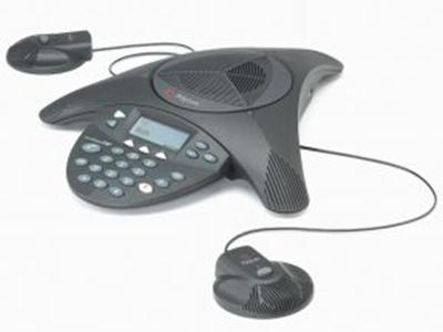 寶利通  聲站2擴展型 適合40到60平米的中小型會議室環境,360度全向麥克風。