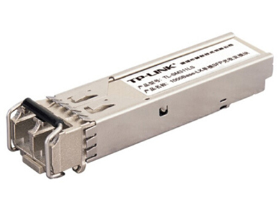 TP-LINK  TL-SM311LS   光纤模块 SFP光纤单模双纤模块,千兆,工作波长1310nm,最长10Km,LC接口(蓝色小方口)