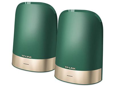TP-LINK  X43  全家通智享路由 mesh 三频 2.4G 400M + 5G-1 1733M + 5G-4 867M  全千兆端口 板阵天线 成对套装 免配对 多频合一 无缝漫游 MU-MIMO+波束成形