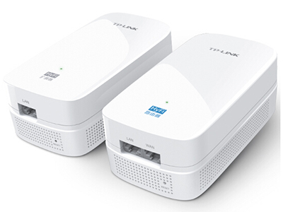 TP-LINK TL-H39R/39E  插墙型HyFi无线路由器 HyFi套装,600Mbps电力线+450Mbps无线速率,内置天线