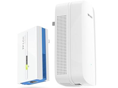 TP-LINK  TL-PA1000&TL-PA1000W  电力线适配器套装 PA1000:1000M电力线适配器,1个千兆LAN口;PA1000W:AC1200 Wifi+1000M PLC,1个千兆LAN口