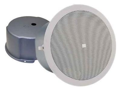 CSS-8006BM 天花揚聲器  頻響范圍(-10 dB): 70Hz - 20 kHz 額定輸入功率:6W(100小時) 靈敏度:94dB 覆蓋范圍:120°(2kHz) 額定阻抗:8 ohms