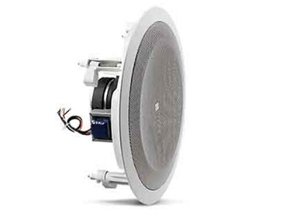 """8128  驅動單元:200mm(8"""" )全音域 頻率范圍(-10dB):50Hz-16kHz 覆蓋范圍:90°錐形覆蓋 靈敏度:97dB(1kHz- -8kHz)"""