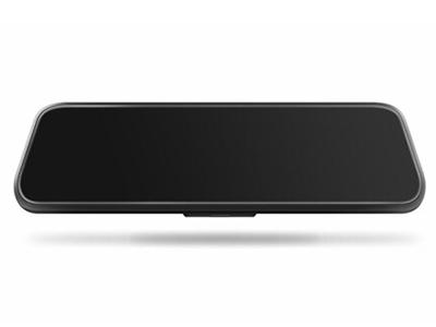 第1现场D1000流媒体后视镜行车记录仪 10英寸全面屏设计无光夜视双镜头五倍视野自动循环录影停车监控