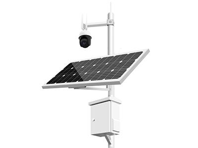 4G野外太阳能监控摄像头 太阳能监控