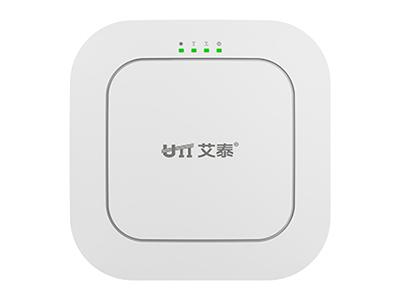 艾泰  WA2540N  11AC 1200M大功率吸顶AP 吸顶式设计,2千兆自适应 RJ-45接口  支持11AC wave2标准,1200Mbps无线传输  灵活供电模式,支持电源适配器供电、IEEE 802.3af  灵活组网,胖瘦一体,无需软硬件切换  支持WPA-PSK/WPA2-PSK加密、无线MAC过滤  双频并发,推荐80台带机量