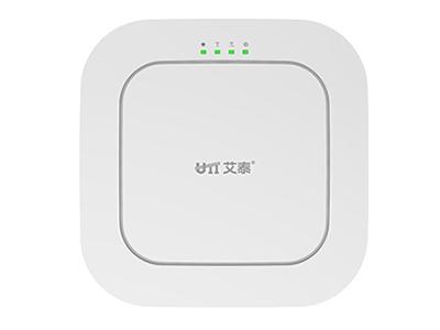 艾泰  WA2580N  11AC 1750M高密度 吸顶AP 吸顶式设计,提供2个10/100M/1000M自适应 RJ-45接口  内置6.5dBi PIFA天线板,1750Mbps无线传输  标准PoE供电(IEEE 802.3af)  灵活组网,支持FIT AP/FAT AP  支持WEP、WPA-PSK/WPA2-PSK等多种加密方式  支持无线MAC过滤功能
