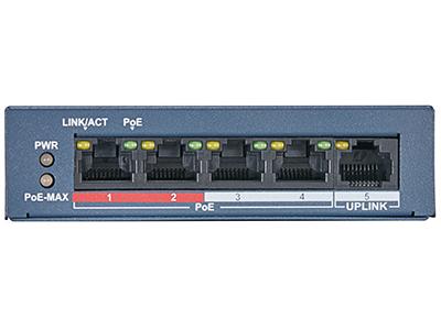 海康威视DS-3E0105SP-E百兆交换机