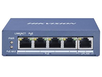 海康威视DS-3E0505P全千兆PoE交换机