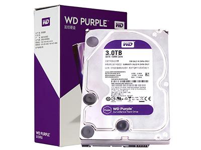 西数 紫盘 3TB SATA6Gb/s 64M 监控硬盘