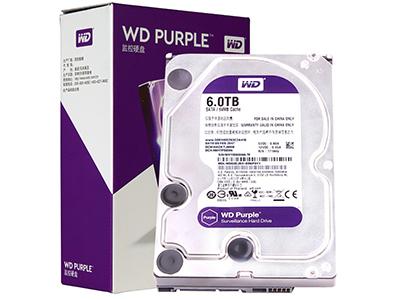 西数 紫盘 6TB SATA6Gb/s 64M 监控硬盘