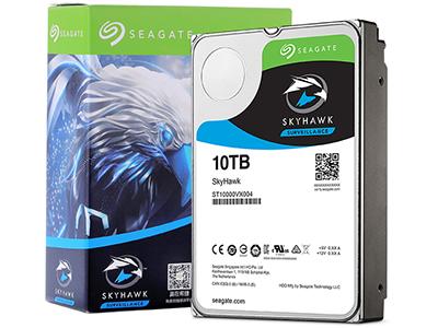 希捷 10TB 256MB 7200RPM 监控级硬盘 SATA接口