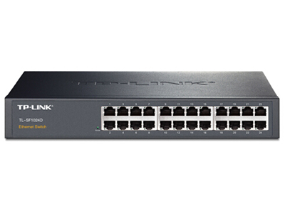 TP-LINK  TL-SF1024D  24口百兆非网管交换机