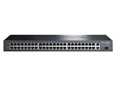 TP-LINK SL1351 48口百兆+2千兆口+1千兆光纤口 非网管交换机