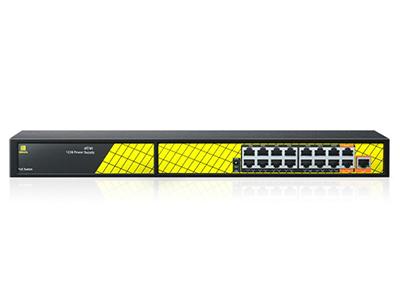 桢田17口千兆智能PoE交换机防雷型P4803V3支持IEEE802.3af/at协议