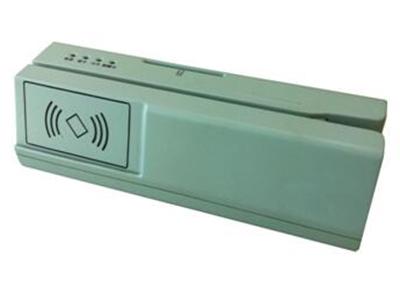 三合一读写机  满足银行柜内清需求产品,可集成磁条读写、接触式IC卡读写、非接触式IC卡读写等功能模块。采用单处理器解决方案,更好的性价比及可靠性。