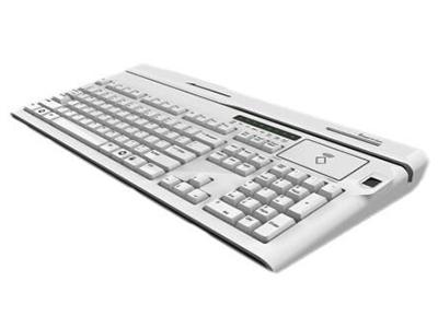 集成键盘  满足银行柜内清需求产品,可集成磁条读写、接触式IC卡读写、非接触式IC卡读写、二代证、指纹仪、PC键盘等功能模块。采用单处理器解决方案,更好的性价比及可靠性。
