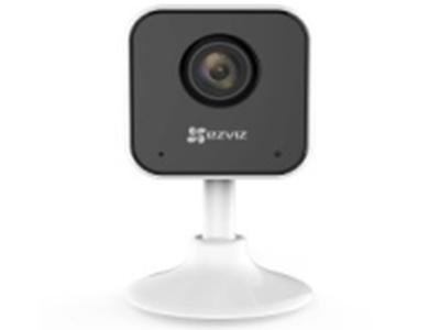 """萤石  CS-C1HC-1D2WFR  室内卡片摄像机摄像机    1/2.9"""" Progressive Scan CMOS,2.8mm 对角130° 水平106°,1920 × 1080 支持双码流,移动侦测/人形侦测,Micro SD 卡(最大128G),54mm*54mm*90.5mm,重量86g(裸机),红外距离:12米(因环境而异)"""