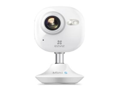 萤石  CS-C2miniS-52WFR  室内卡片摄像机摄像机    200W像素1/2.8mm镜头,10米红外,双频Wifi,移动侦测报警,语音对讲,哭闹报警,荧光夜视,宝妈贴心助手