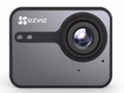 萤石  S1C  运动摄像机 140度超广视角,2K高清,4G内存,支持蓝牙4.0+wifi,1160MA