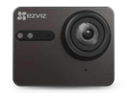 萤石  S5  运动摄像机 158度超广视角,4K高清,4G内存,支持蓝牙4.0+wifi,1160mAh