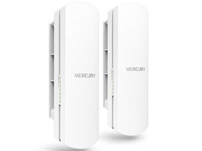水星  MWB505套装  无线网桥 5.8G,867M,5公里,自带POE模块供电或电源适配器供电