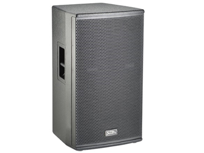 """音王  10"""" 两分频全频音箱   """"类型  10"""""""" 两分频全频音箱   频率响应  55Hz~20kHz (-10dB)  )    60Hz~18kHz (±3dB)  灵敏度(1W@1m)  94 dB  额定阻抗  8Ω   额定功率  250W(连续),1000W(峰值)    分频点  2kHz   低音单元  10"""""""" 中低音 / 65mm音圈  高音单元  peek膜 / 34mm音圈   覆盖角(水平x垂直)  90°x40°  最大声压级(@1m)  124dB(峰值)  箱体尺寸(WxHxD)"""