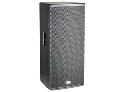 """音王  2X15"""" 两分频全频音箱  """"类型  2X15"""""""" 两分频全频音箱   频率响应  43Hz~20kHz(-10dB)    48Hz~18kHz(±3dB)   灵敏度(1W@1m)  99dB   额定阻抗  4Ω   额定功率  1000W(连续),4000W(峰值)   分频点  1.4kHz   低音单元  2X15""""中低音 / 100mm音圈   高音单元  钛 / peek复合膜 / 75mm音圈    Voice coil / neodymium magnet   覆盖角(水平x垂直)  80°"""