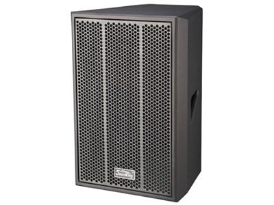 """音王  二分频12"""" 全频音箱   """"类型    二分频12"""""""" 全频音箱   频率响应   55Hz-20kHz (-10dB)  50Hz - 20kHz (-10dB)   灵敏度(1W@1m)    97 dB   额定阻抗    8Ω   额定功率    300W(连续),1200W(峰值)   分频点    2kHz   低音单元   12"""""""" 中低音 / 75mm音圈   高音单元    聚酰亚氨材料音膜 / 44mm音圈   覆盖角(水平x垂直)    90 ° x 50 °   最大声压级(@1m)"""