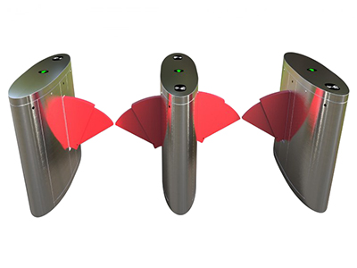 桥式双飞翼翼闸Y07BD-02  该设备将机械、电子、微处理器控制及各种身份识别技术有机地融为一体,方便兼容IC卡、ID卡、条码卡、指纹等读卡识别设备的使用,通过选配各种身份识别系统设备和采用性能可靠的安全保护装置、报警装置、方向指示等,协调实现对通道智能化控制与管理等。 分为:单机芯:用于单通道和多通道;双机芯:用于多通道。  【功能特点】 ●具有故障自检和报警提示功能,方便用户维护及使用; ●通过主控板上的内置小按盘,可编程设备的运行状态; ●机械结构、感应双重防夹功能,在伸缩臂复位的过程中遇阻时,自动停止或在默认的时间