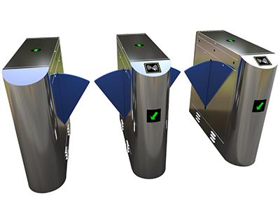 桥式翼闸Y03BD-02-C  该翼闸设备将机械、电子、微处理器控制及各种身份识别技术有机地融为一体,方便兼容IC卡、ID卡、条码卡、指纹等读卡识别设备的使用,通过选配各种身份识别系统设备和采用性能可靠的安全保护装置、报警装置、方向指示等,协调实现对通道智能化控制与管理等。 分为:单机芯:用于单通道和多通道;双机芯:用于多通道。  【功能特点】 ●具有故障自检和报警提示功能,方便用户维护及使用; ●通过主控板上的内置小按盘,可编程设备的运行状态; ●机械结构、感应双重防夹功能,在伸缩臂复位的过程中遇阻时,自动停止或在默认的