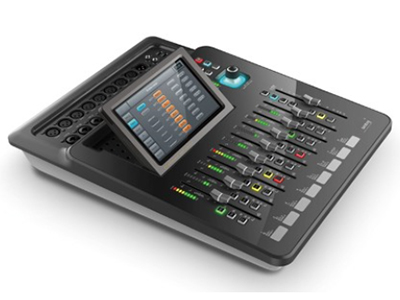 """音王  DM20  调音台 """"S/PDIF 输入/输出和AES/EBU 数字输出 1024*600像素7""""""""高清触摸屏  12路麦克风(4 路COMBO),2路立体声,S/PDIF输入,USB输入 触摸屏划动操作 8种效果(2种调制,2种延时,2种混响,2种GEQ) 总线:L/R+4单声道+4立体声+1监听 高质量的部件:瑞士NEUTRIK XLR, 日本ALPS推子 2 个USB接口(录音/播放,WiFi,软件更新,场景导入/导出) iPad 遥控 12路麦克风高精度电子增益 2.1输出 内置2G内存 增"""