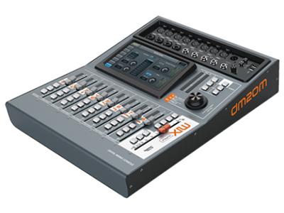 """音王  DM20M  调音台 """"产品特点: >S/PDIF 输入/输出和AES/EBU 数字输出 >1024*600像素7""""""""高清触摸屏  >12路麦克风(4 路COMBO),2路立体声,S/PDIF输入,USB输入 > 触摸屏划动操作 >8种效果(2种调制,2种延时,2种混响,2种GEQ) >总线:L/R+4单声道+4立体声+1监听 >高质量的部件:瑞士NEUTRIK XLR, 日本ALPS推子 >2 个USB接口(录音/播放,WiFi,软件更新,场景导入/导出) >iPad 遥控 >12路麦克风高精度电子增益"""