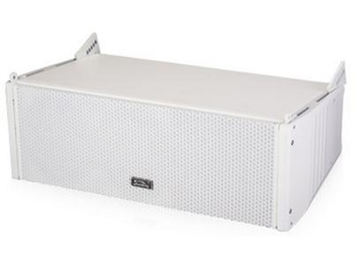 """音王  G05(外置分频)  线阵列音箱 """"类   型  二驱动二分频无源线性阵列音箱 频率响应  60Hz~20kHz (-10dB) 80Hz~18kHz (±3dB) 水平覆盖角(-6dB)  90° 垂直覆盖角(-6dB)  10° 低音单元  2×5"""""""" ( 127mm ) / 1"""""""" 音圈 高音单元  1×1.7"""""""" ( 44 mm ) 压缩驱动器 灵敏度(1W@1m)  低音单元: 90dB   高音单元: 104dB 额定阻抗  低音单元: 16Ω   高音单元: 16Ω 额定功率  低音单元: 100W  ("""