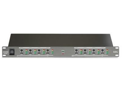 """音王  SDA208  信号分配器 """"输入阻抗  44kΩ 输出阻抗  330Ω 最出输入电平  +12dB 频率响应  20Hz-22kHz 信噪比  101dB 输入  +4dBu /-10dBV电平切换 尺寸(WxDxH)  436x197x44.3(mm) 重量  3.1kg"""""""