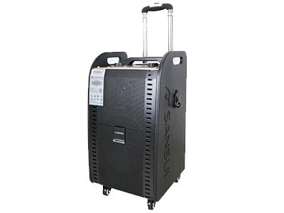 """山水  SG1-08  电瓶箱 """"8寸喇叭、80磁高音 电池:5.5Ah 功能:蓝牙、语音、录音、话筒优先、带咪架,带遥控 无线咪:U-3606DT32 功率:40W"""""""