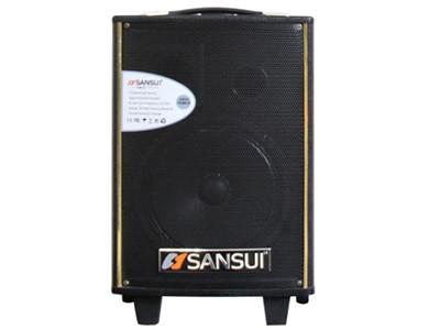 """山水  SA1-08 (特价机)   电瓶箱 """"单8寸喇叭 功能:带单手咪,蓝牙、语音、录音"""""""