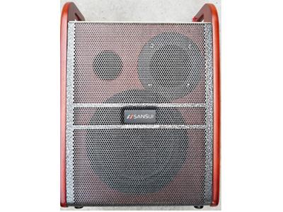 """山水  SY06-1  背包箱 """"6寸喇叭 电池:12V/5.5AH 功能:蓝牙,USB MP3播放,独立乐器,独立话筒,多种DSP声效,话筒频率通道2选1,高保真高增益低功耗数字无线话筒,人体舒适背包设计 适配器:DC15V2A 单手咪 功率:40W"""""""