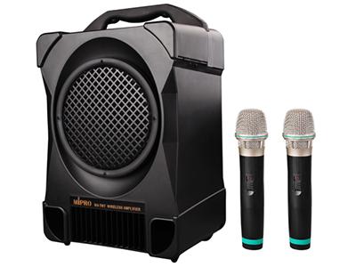 咪宝MA-707无线户外音响便携式移动拉杆音箱