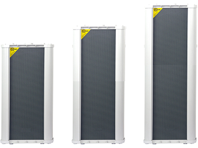 "FiFi  L-2100  防水音柱扬声器 ""功能特点: 高性能大口径音柱扬声器 宽频响灵敏度音柱扬声器,适用于广播扩声和背景音乐。主要用于:火车站、地铁、教堂、工厂、仓库和公园等大型场所。适于室外使用。由八寸低音和34芯号角高音喇叭组成。 设备参数  额定功率:100W 额定电压:110V 频率响应:70Hz-18KHz 喇叭单元:8""x1+34芯高音号角 尺寸:540x250x230mm"""