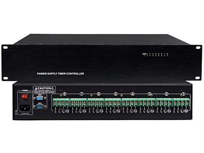 """FiFi MT-6208 8路大功率电源控制器 """"8路开关量控制,可级连16台电源控制器。  8路强电/弱电控制器;采用ID分址拨位开关,最多可级联16台;RS232协议控制;单路最大负载3000W。"""""""