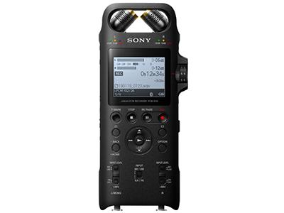 索尼  专业数码录音笔PCM-D10 16GB 黑色 数字降噪Hifi无损播放 大直径三向双麦克风